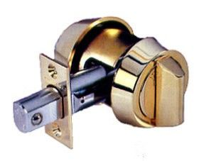 A deadbolt from our locksmith in Calgary
